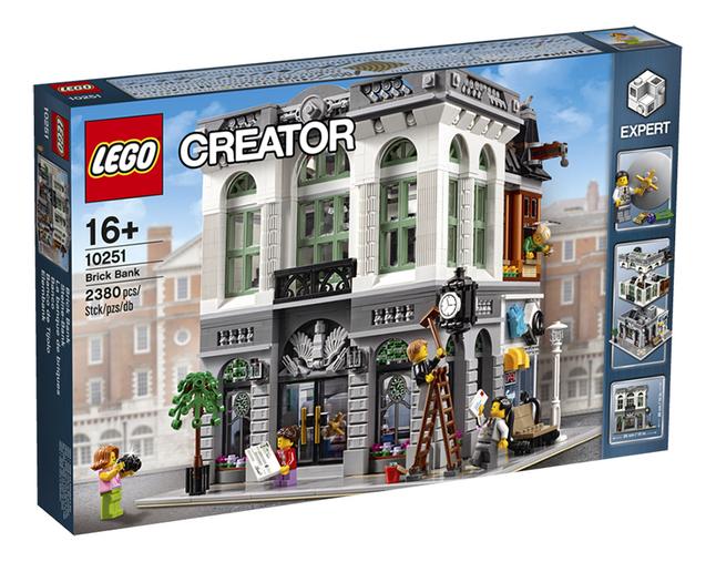 Image pour LEGO Creator 10251 La banque de briques à partir de ColliShop