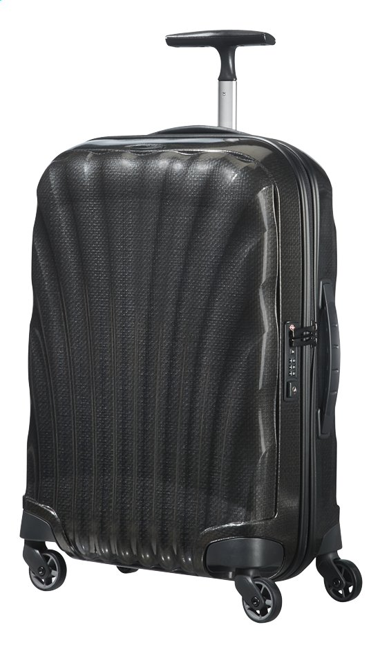 Afbeelding van Samsonite Harde reistrolley Cosmolite 3.0 Spinner black 55 cm from ColliShop