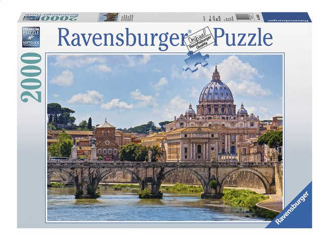 Afbeelding van Ravensburger puzzel Engelenbrug in Rome from ColliShop