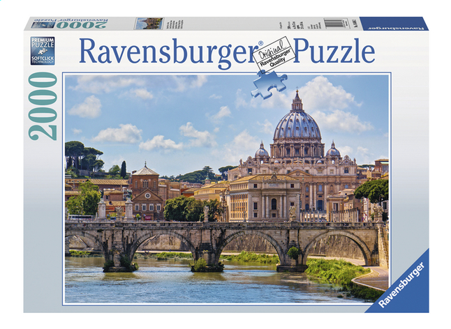 Image pour Ravensburger puzzle Le pont Saint-Ange à Rome à partir de ColliShop