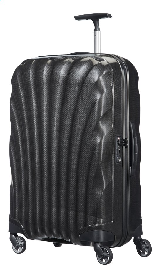 Afbeelding van Samsonite Harde reistrolley Cosmolite 3.0 Spinner black 69 cm from ColliShop