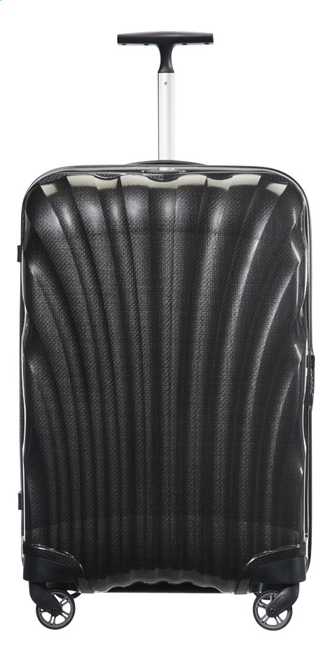 Afbeelding van Samsonite Harde reistrolley Cosmolite 3.0 Spinner black 75 cm from ColliShop