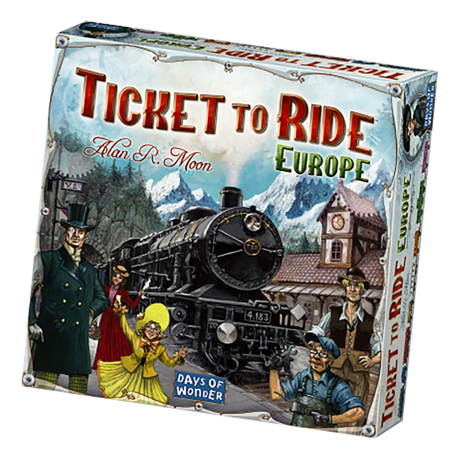 Image pour Ticket to ride Europe NL à partir de ColliShop