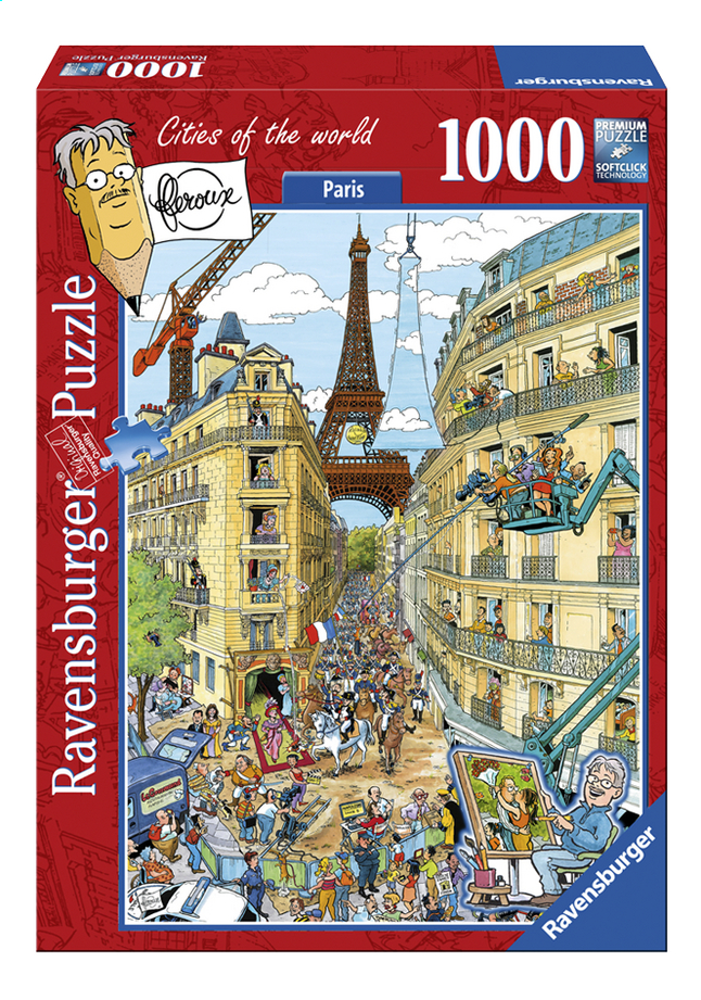 Afbeelding van Ravensburger puzzel Fleroux Paris from ColliShop