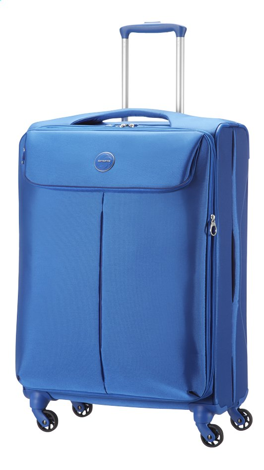 Afbeelding van Samsonite Zachte reistrolley Pop-Fresh Spinner EXP imperial blue 70 cm from ColliShop