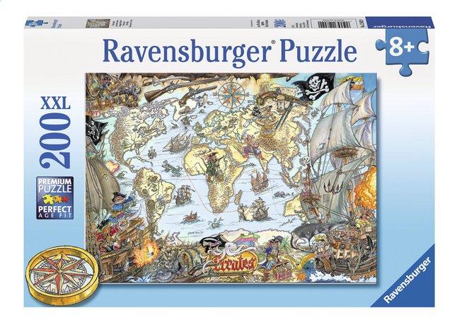 Image pour Ravensburger puzzle XXL Carte du monde des pirates à partir de ColliShop