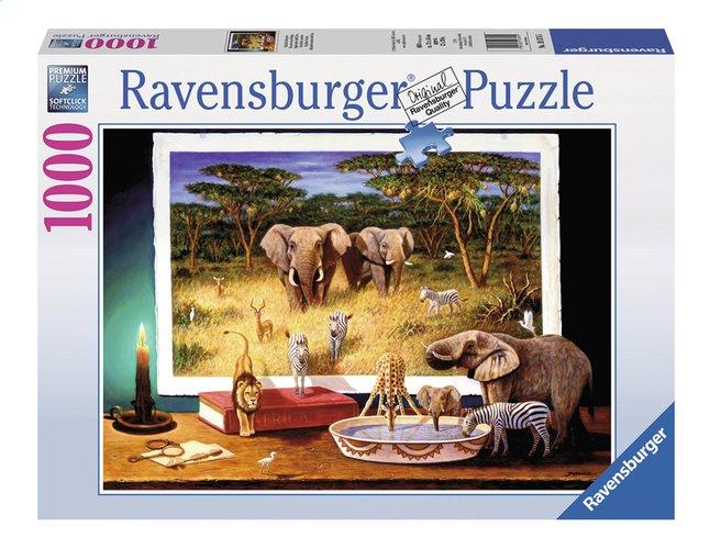 Image pour Ravensburger puzzle Visiteurs venus d'Afrique à partir de ColliShop