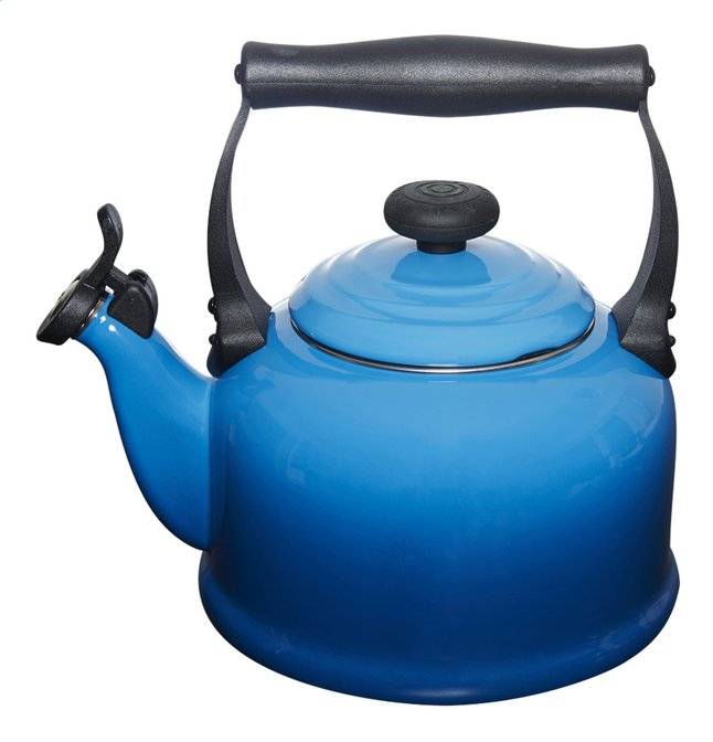 Image pour Le Creuset Bouilloire Tradition bleu marseille 2,1 l à partir de ColliShop