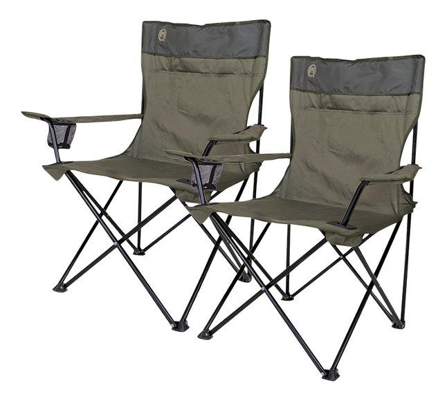 Image pour Coleman 2 fauteuils de camping Quad vert à partir de ColliShop
