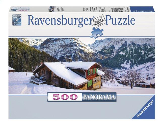 Afbeelding van Ravensburger Panoramapuzzel Winterlandschap from ColliShop