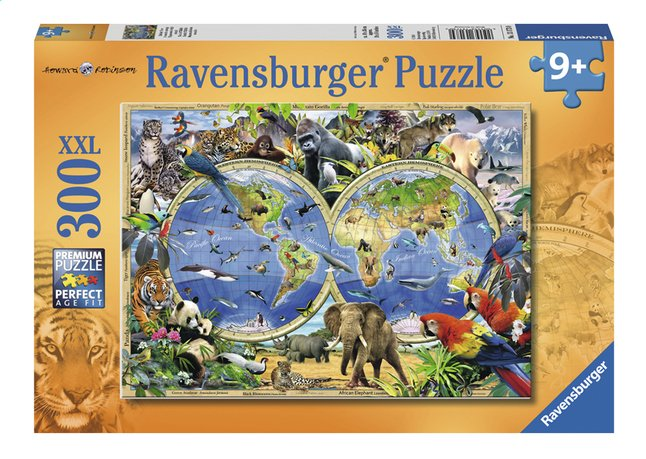Afbeelding van Ravensburger XXL puzzel World of Wildlife from ColliShop
