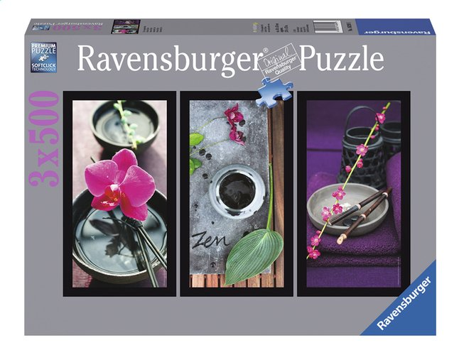 Afbeelding van Ravensburger Puzzel 3-in-1 Zen from ColliShop