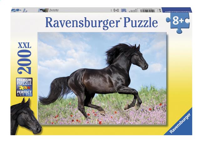 Afbeelding van Ravensburger XXL puzzel Zwarte hengst from ColliShop