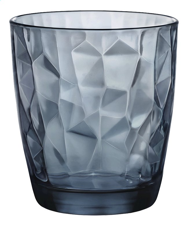 Image pour Bormioli Rocco 6 verres à eau Diamond Tumbler 30 cl ocean blue à partir de ColliShop
