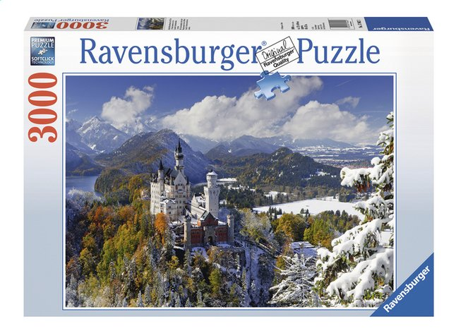 Afbeelding van Ravensburger puzzel Slot Neuschwanstein in de winter from ColliShop