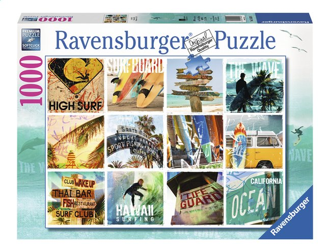 Afbeelding van Ravensburger puzzel Surfin' USA from ColliShop