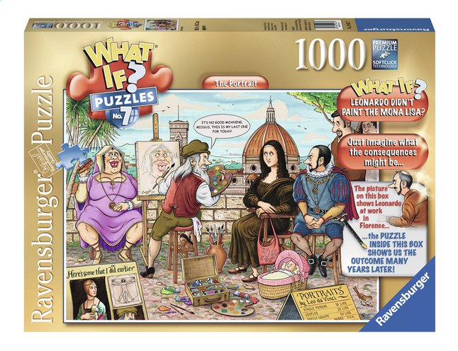 Image pour Ravensburger puzzle What if? The portrait à partir de ColliShop