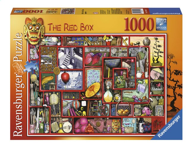 Afbeelding van Ravensburger puzzel The Rex Box from ColliShop