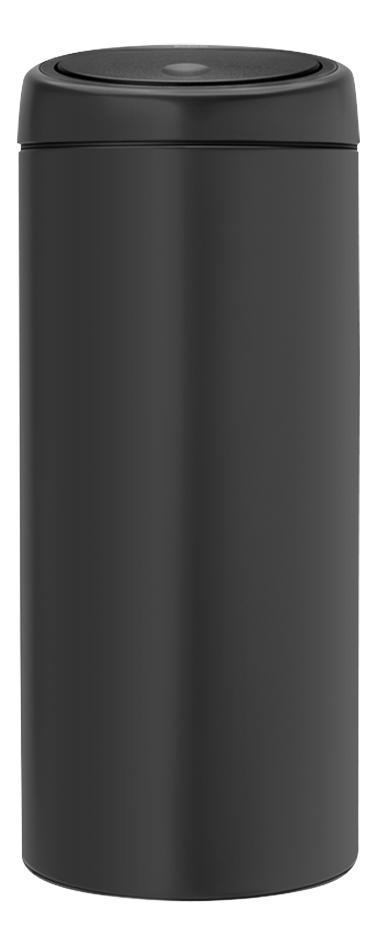 Afbeelding van Brabantia Afvalemmer Touch Bin antraciet 30 l from ColliShop