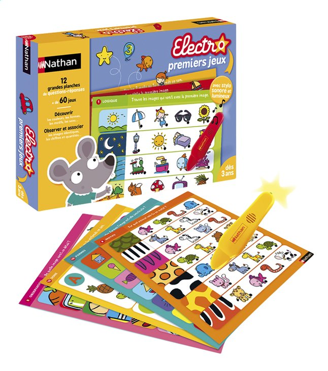 Afbeelding van Electro premiers jeux FR from ColliShop