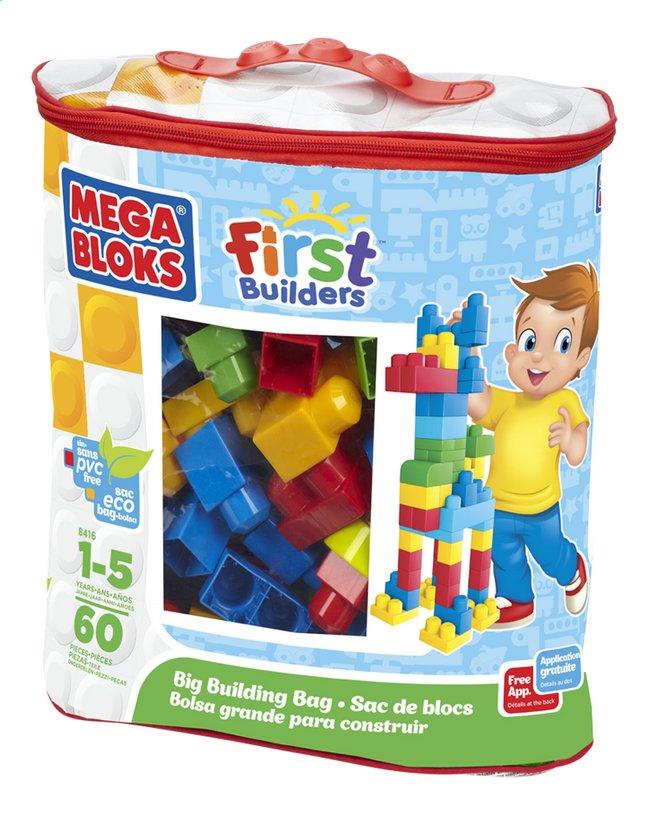 Afbeelding van Mega Bloks First Builders Big Building Bag from ColliShop