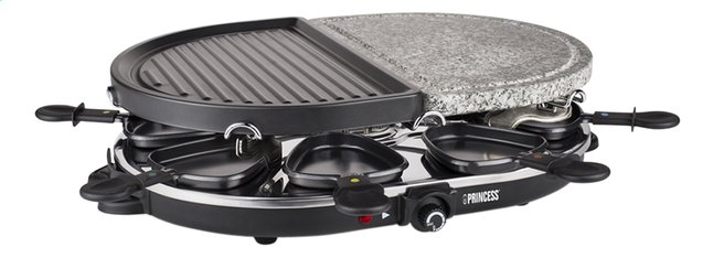 Afbeelding van Princess Steengrill-grill-raclette from ColliShop