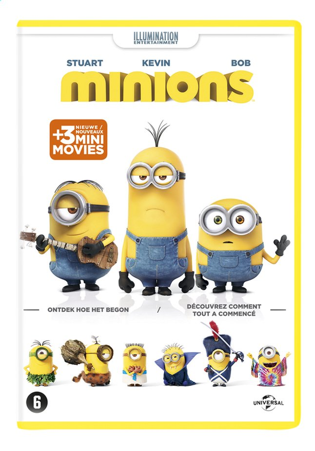 Afbeelding van Dvd Minions from ColliShop