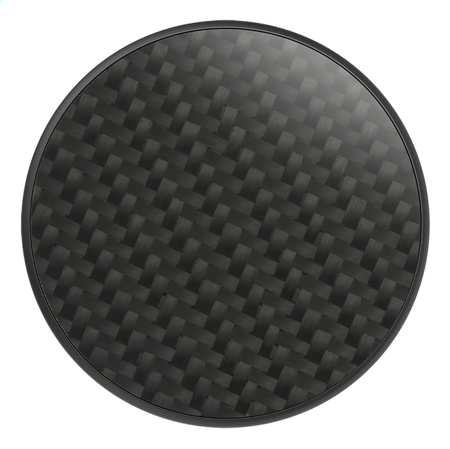 Afbeelding van PopSockets Phone grip Carbon Fiber Black from ColliShop
