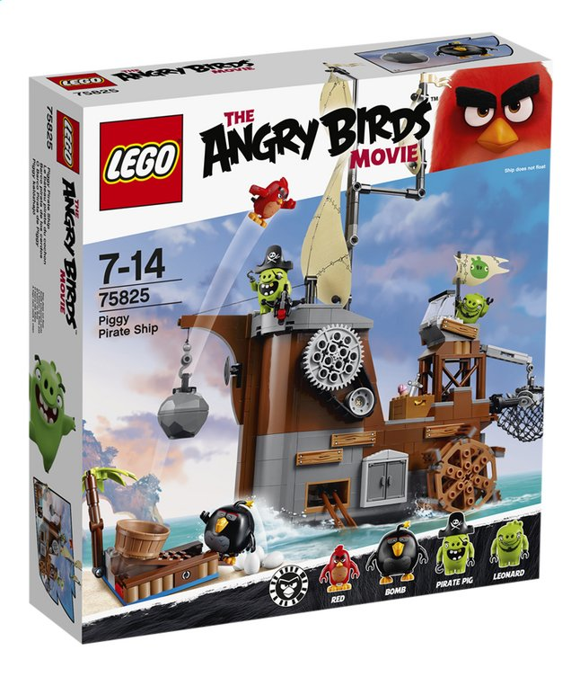 Afbeelding van LEGO Angry Birds 75825 Piggy Pirate Ship from ColliShop