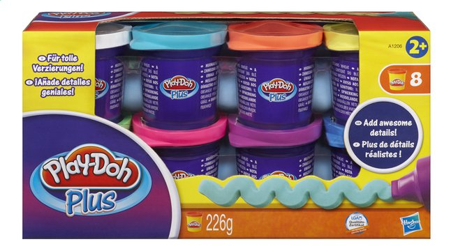 Afbeelding van Play-Doh Plus 8 potjes from ColliShop