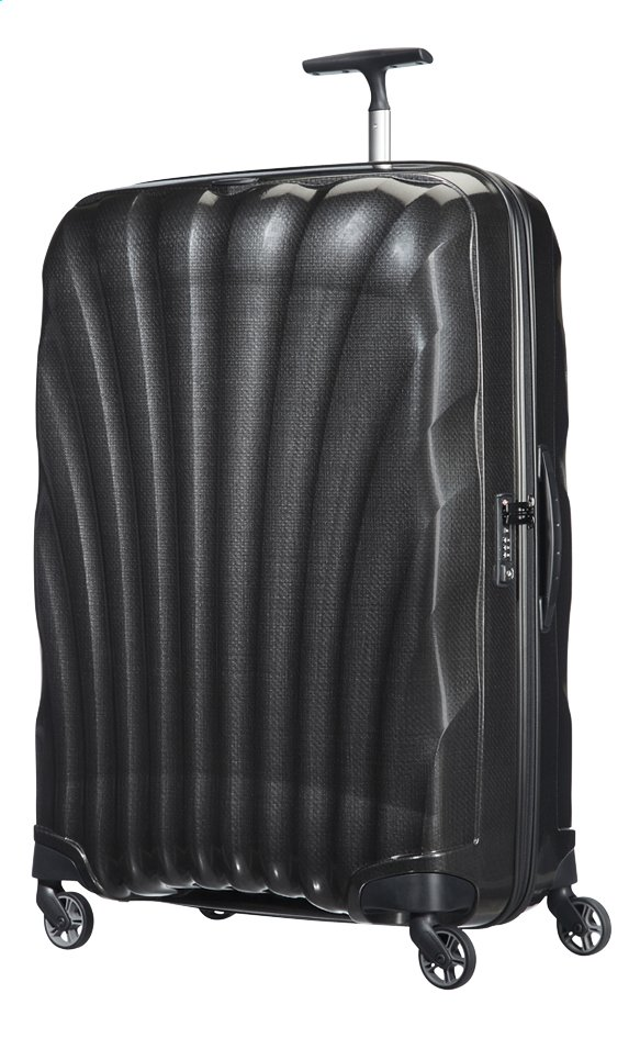 Afbeelding van Samsonite Harde reistrolley Cosmolite 3.0 Spinner black 81 cm from ColliShop