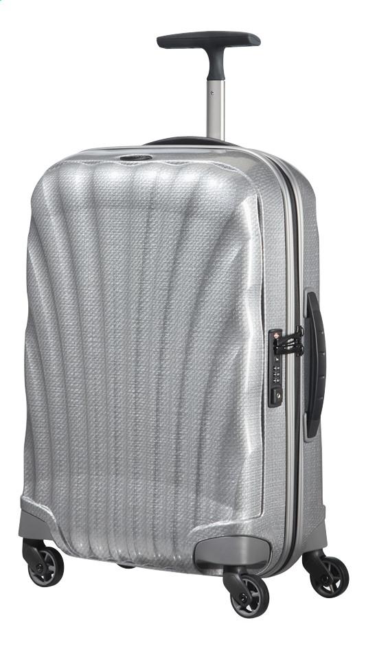 Afbeelding van Samsonite Harde reistrolley Cosmolite 3.0 Spinner silver 55 cm from ColliShop
