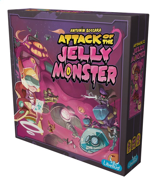 Afbeelding van Attack of the Jelly Monster ENG from ColliShop