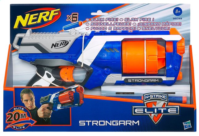 Afbeelding van Nerf Elite blaster Strongarm from ColliShop