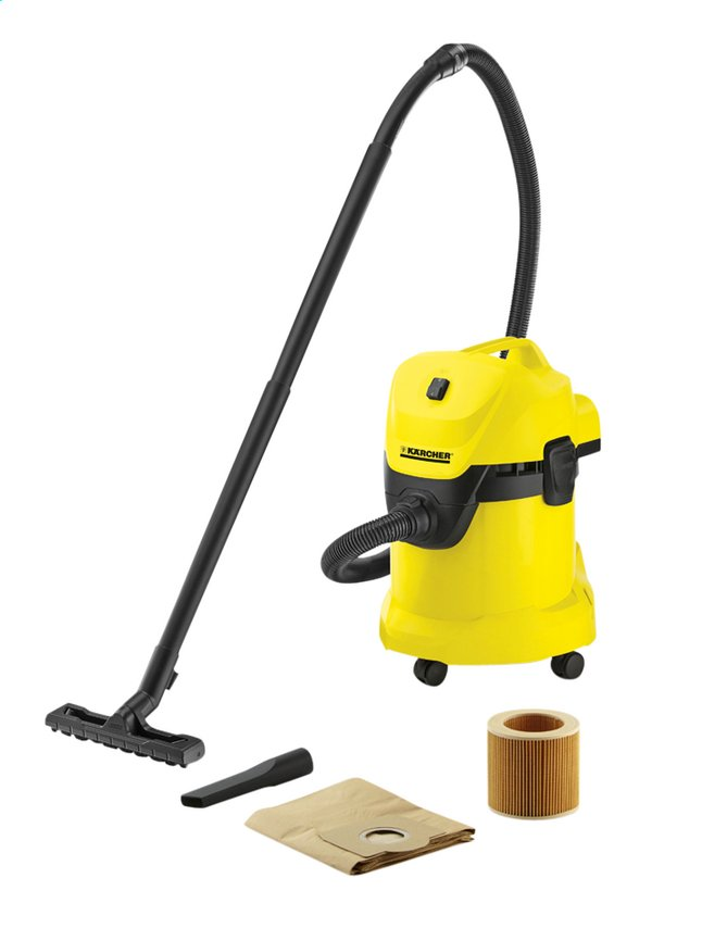 aspirateur eau et poussiere karcher wd3. Black Bedroom Furniture Sets. Home Design Ideas