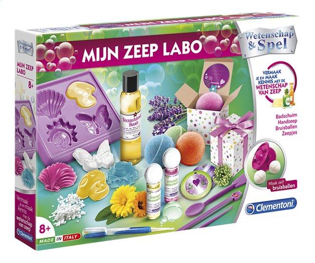 Afbeelding van Clementoni Wetenschap & Spel Mijn zeep labo from ColliShop