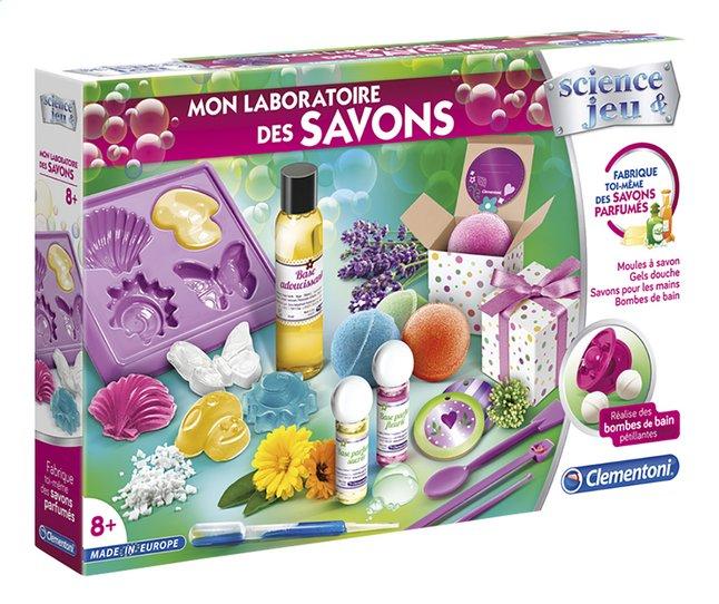Image pour Clementoni Science & Jeu Mon laboratoire des savons à partir de ColliShop