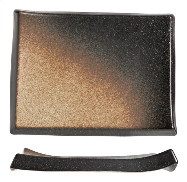 Image pour Cosy & Trendy 2 assiettes plates Shoshu L 28 x Lg 21 cm à partir de ColliShop
