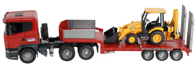 Afbeelding van Bruder vrachtwagen Scania met JCB baggerlader from ColliShop