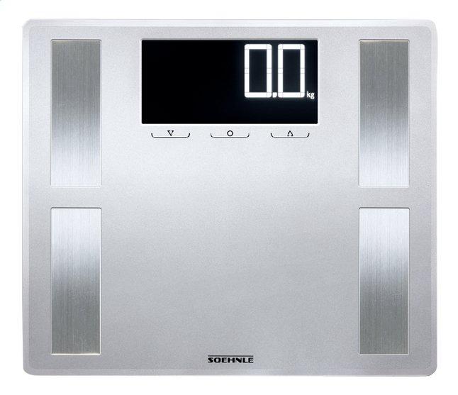 Image pour Soehnle Pèse-personne/impédancemètre Shape Sense Profi 200 gris/inox à partir de ColliShop