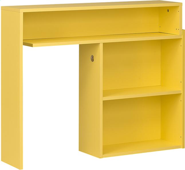Afbeelding van Hoofdbord voor bed Basil geel from ColliShop