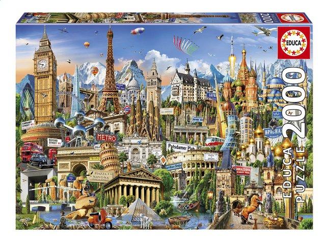 Image pour Educa Borras puzzle Symboles européens à partir de ColliShop