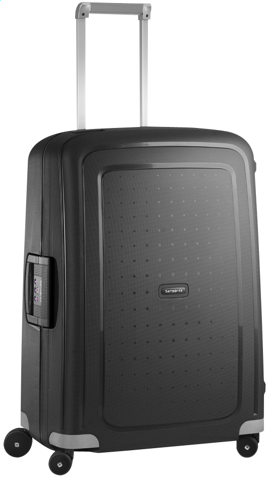 Image pour Samsonite Valise rigide S'Cure Spinner black 69 cm à partir de ColliShop