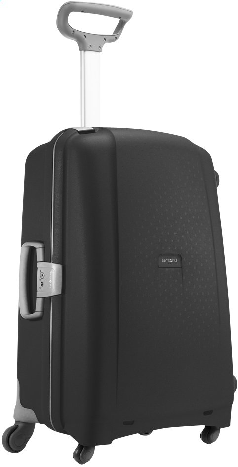 Image pour Samsonite Valise rigide Aeris Spinner black 68 cm à partir de ColliShop
