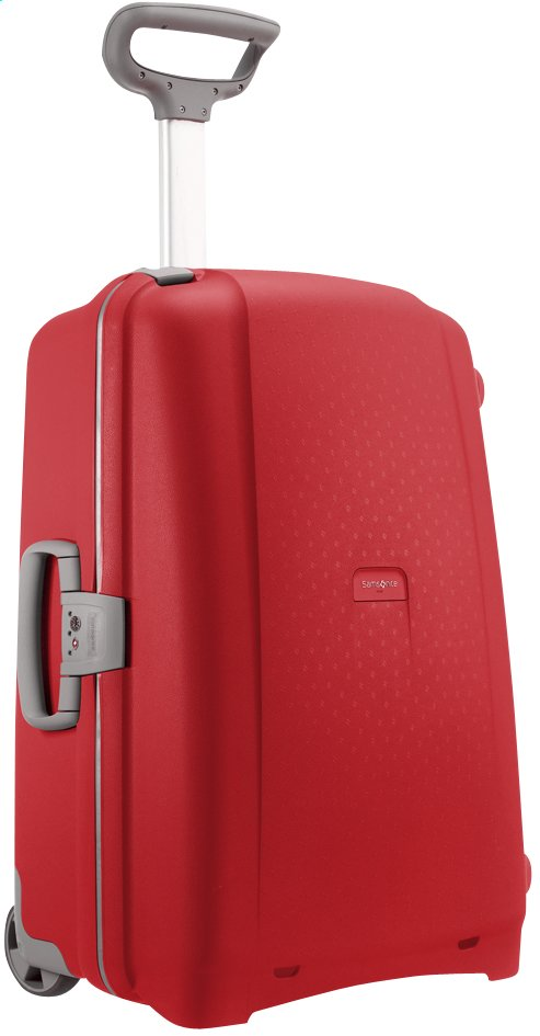 Afbeelding van Samsonite Harde reistrolley Aeris Upright red 71 cm from ColliShop