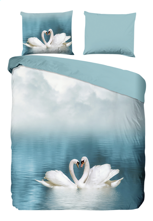 Good Morning Housse de couette Swan coton