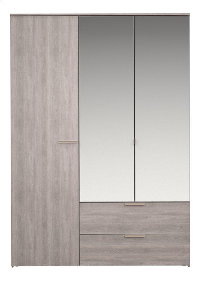 Afbeelding van Tempo kleerkast met 3 deuren en 2 laden from ColliShop