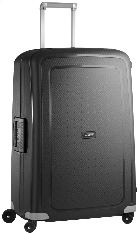 Afbeelding van Samsonite Harde reistrolley S'Cure Spinner black 75 cm from ColliShop