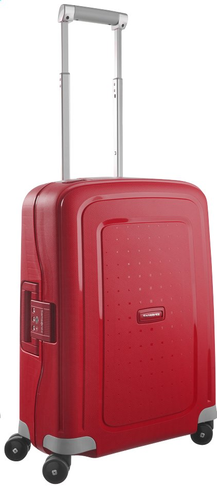 Image pour Samsonite Valise rigide S'Cure Spinner crimson red 55 cm à partir de ColliShop