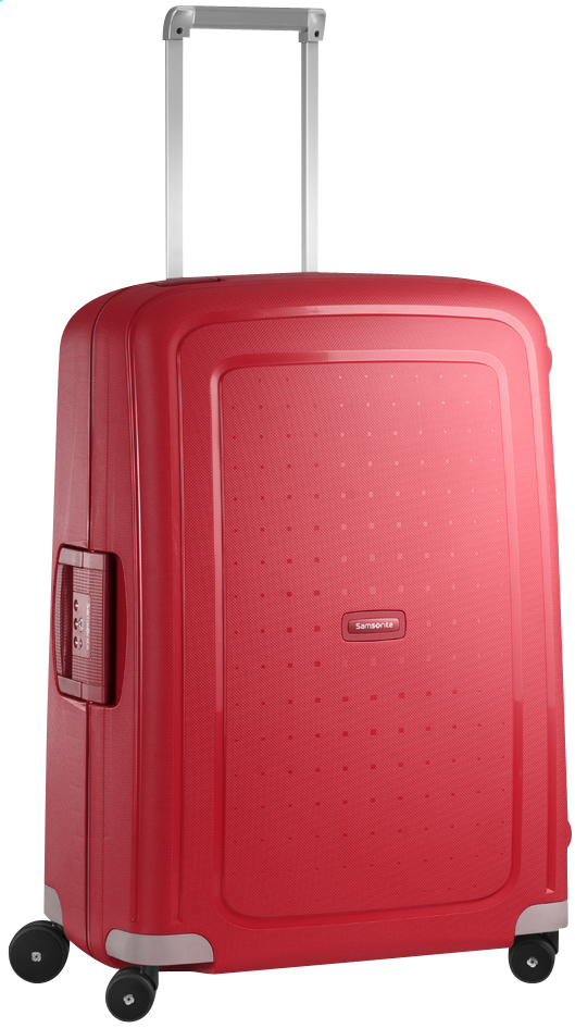 Afbeelding van Samsonite Harde reistrolley S'Cure Spinner crimson red 69 cm from ColliShop